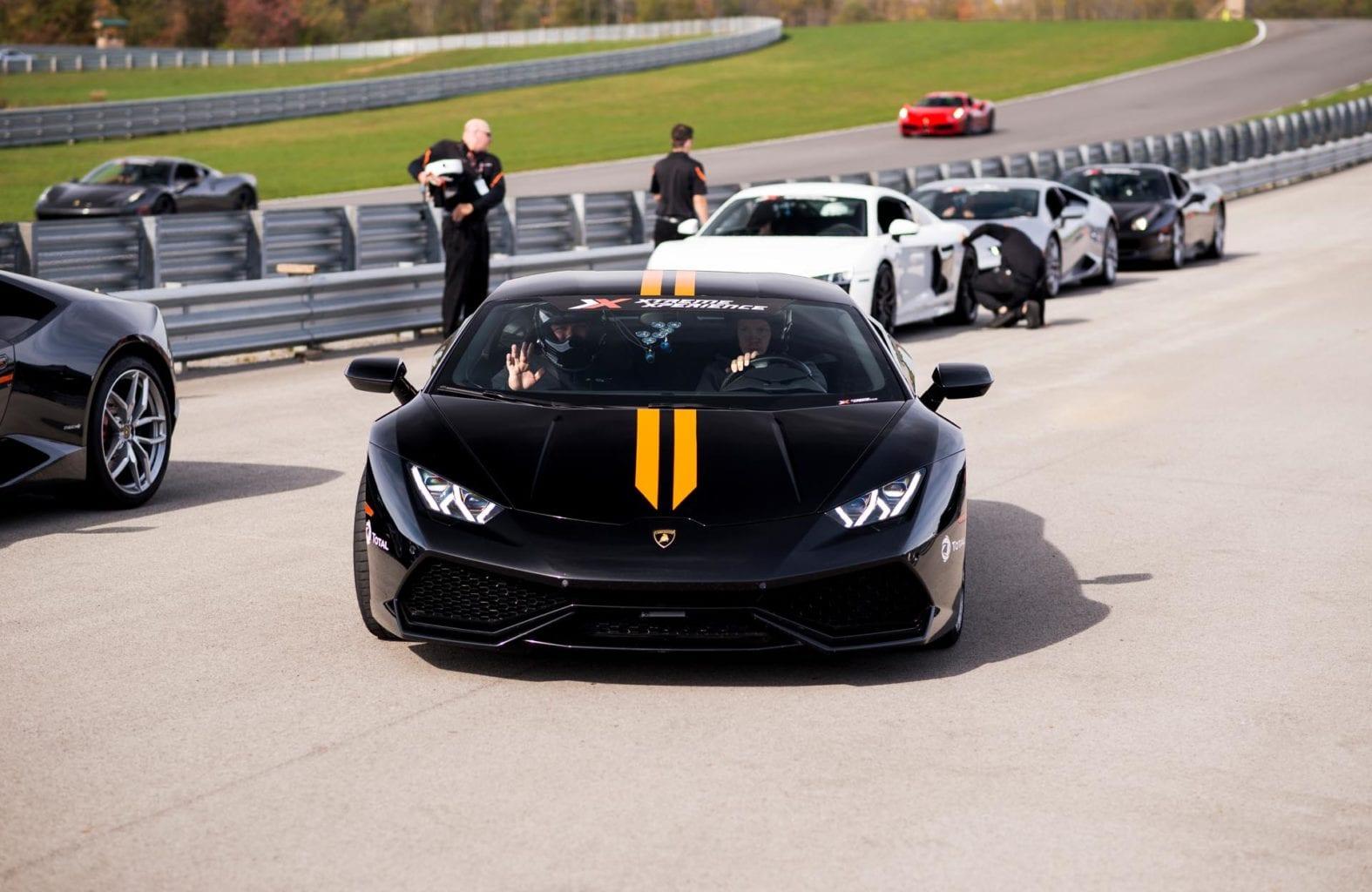black racecar