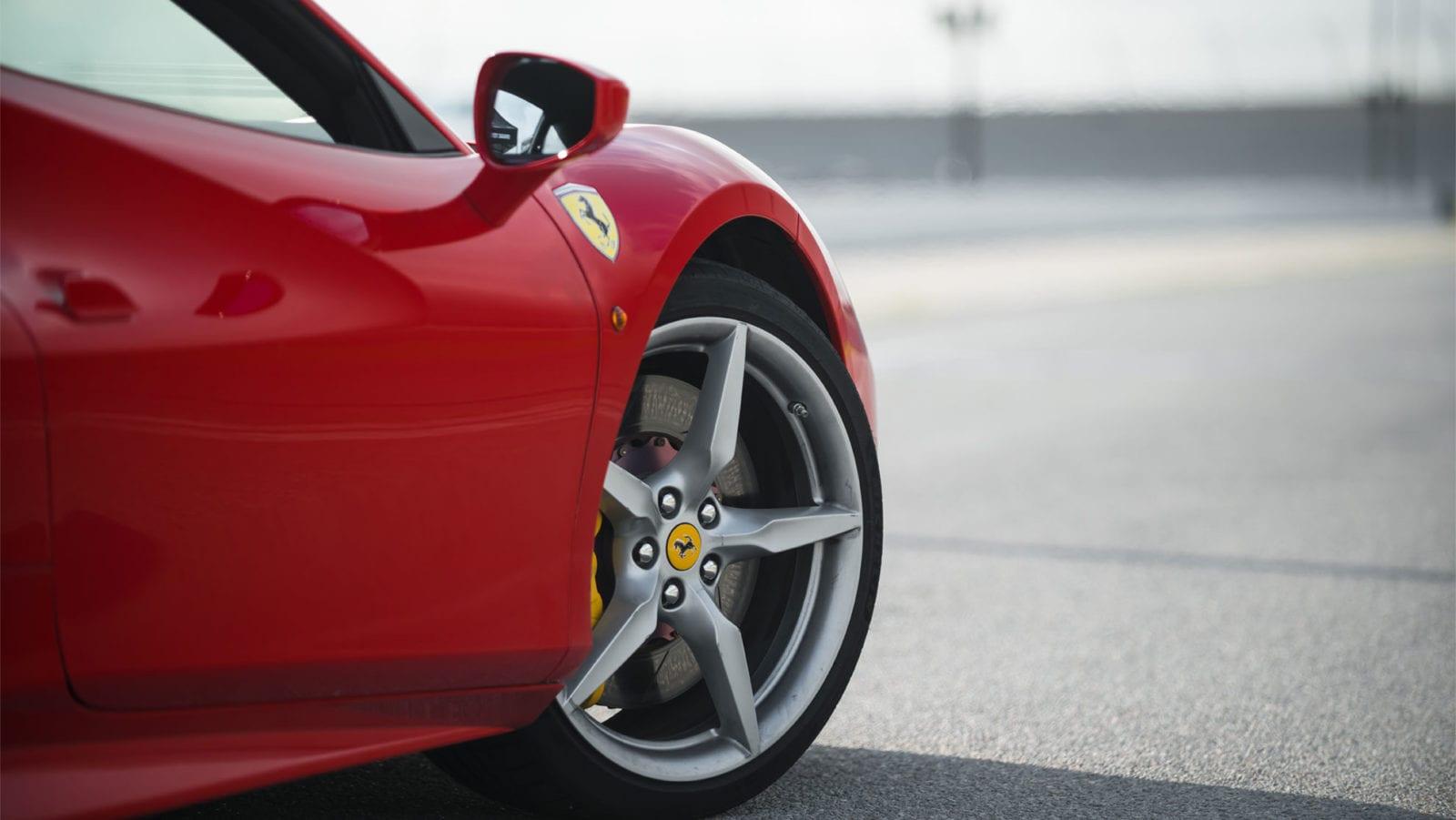 Ferrari 488 GTB front quarter panel