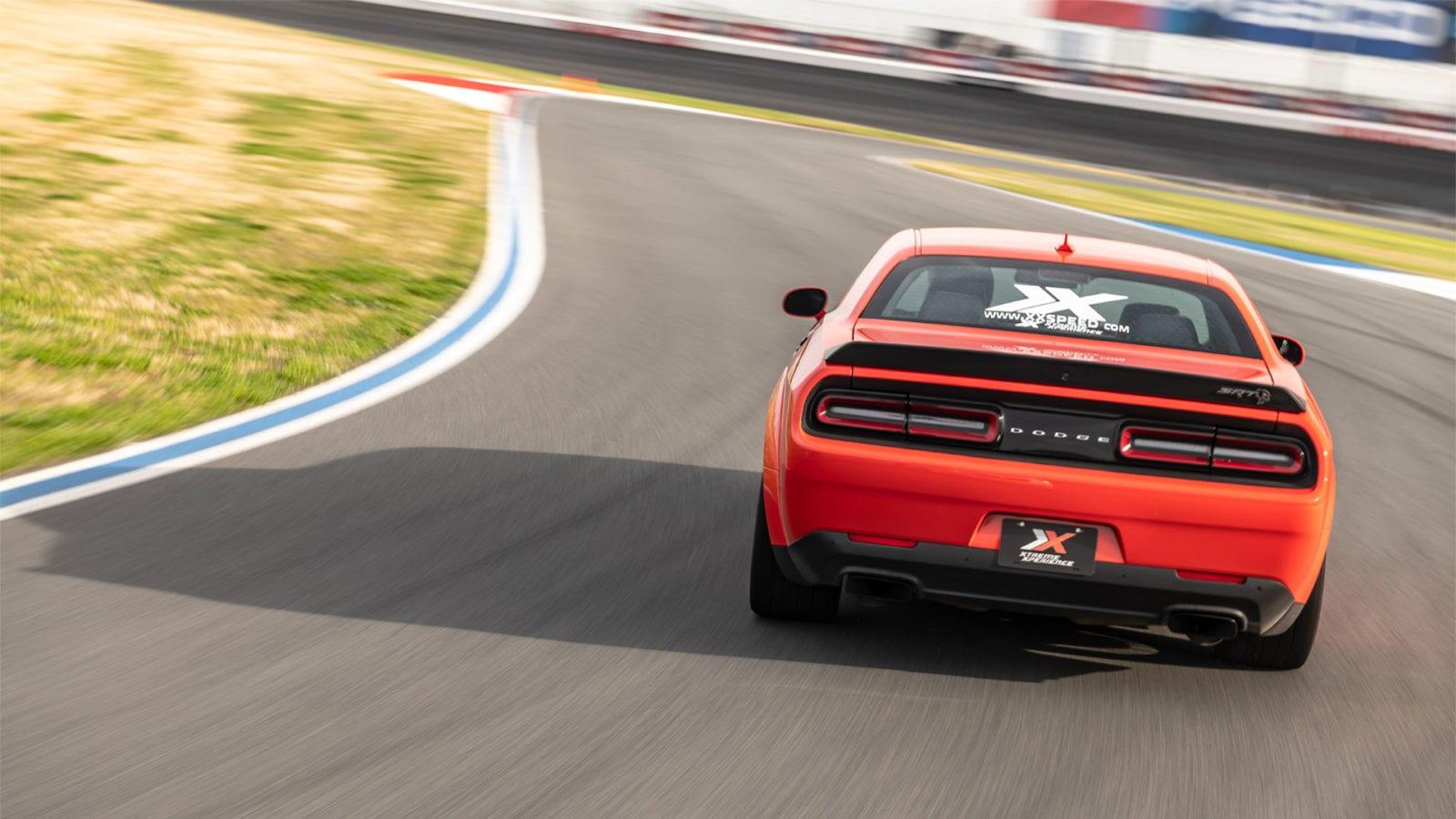 Dodge Hellcat Widebody rear end