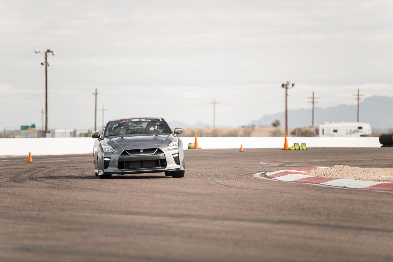 gray racecar